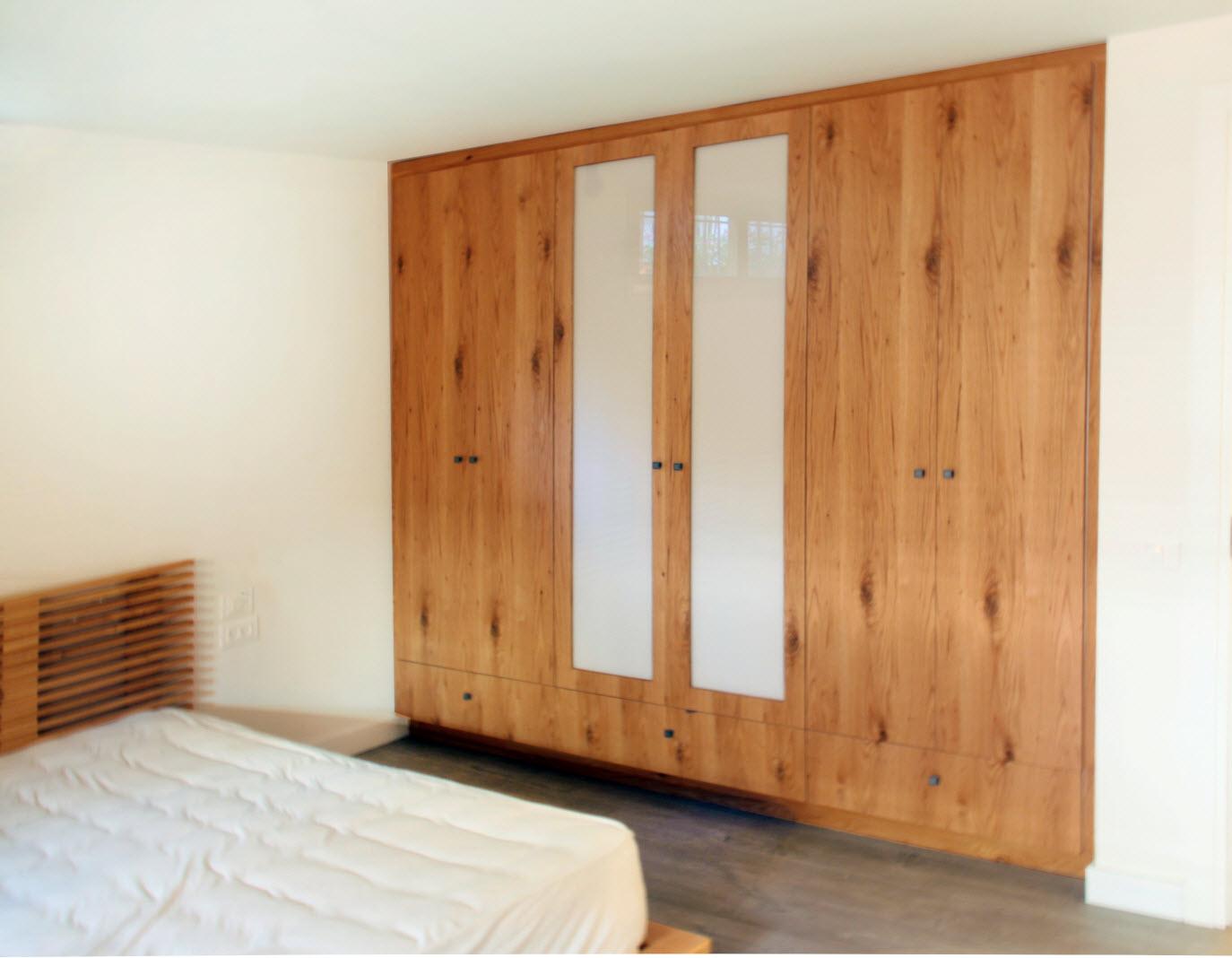 ארון בגדים 2 + חדר שינה 2